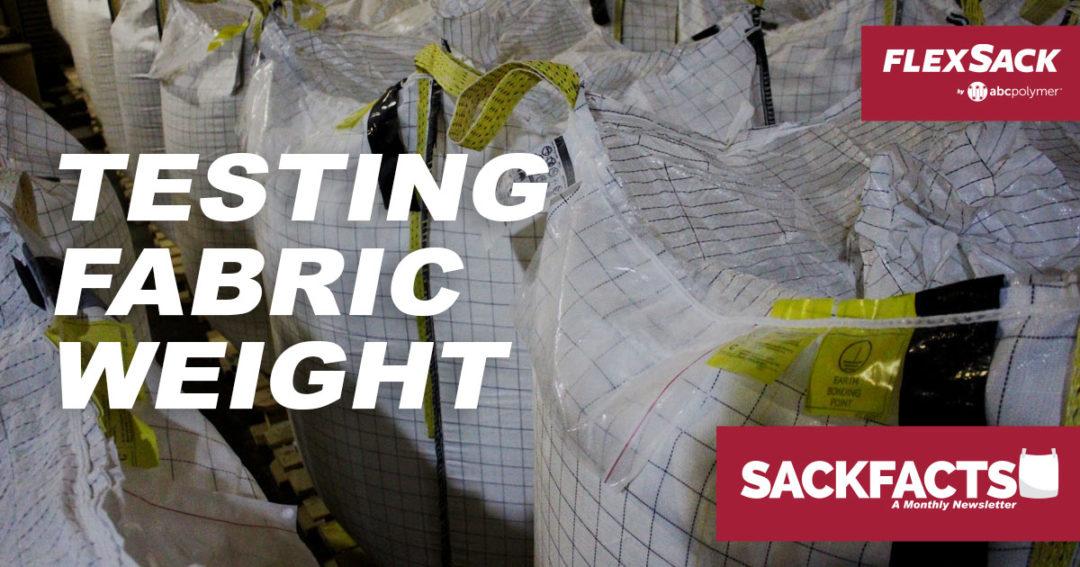 Testing Fabric Weight